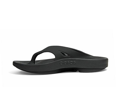 Oofos Men's OOriginal Sandal - Black 1000BLK