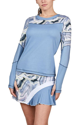 Sofibella Blue Moon Long Sleeve 2064