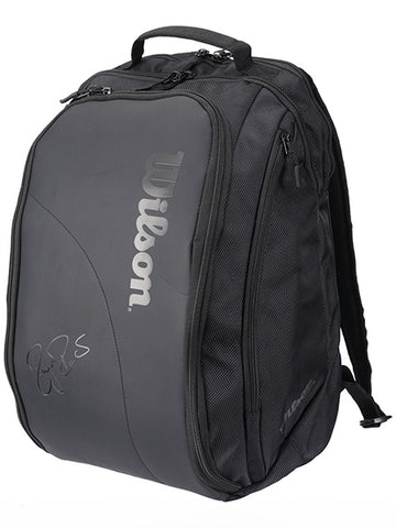 Wilson Federer DNA Black Backpack Bag 2018