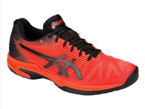 Asics Solution Speed FF Cherry Tomato/Black Men's Shoe 1041A003-808