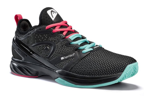 Head Sprint SF Black/Teal Women's Shoe