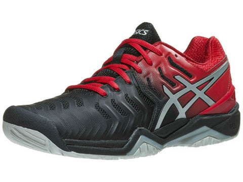 Asics Gel Resolution 7 Men's Shoe Black/Silver E701Y-001