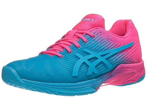 Asics Solution Speed FF L.E. Aqua/Pink Women's Shoes 1042A024-400