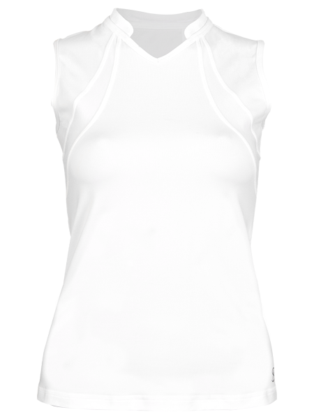 Sofibella Club Lux Sleeveless Top 1982-WHT