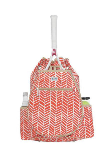 Bags - Ame And Lulu Kingsley Tennis Backpack Tango TBP088