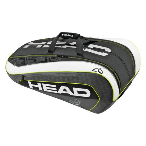 Bags - Head Djokovic 12pk Bag 2016