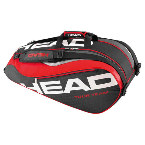 Bags - Head Tour Team Supercombi 9pk Bag Black/Red 2016
