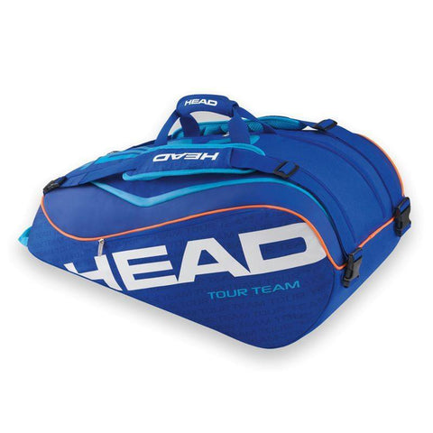 Bags - Head Tour Team SuperCombi Bag 9 Pack Blue/Coral 2015