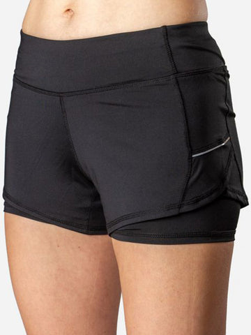 Gearbox Ladies Shorts Black