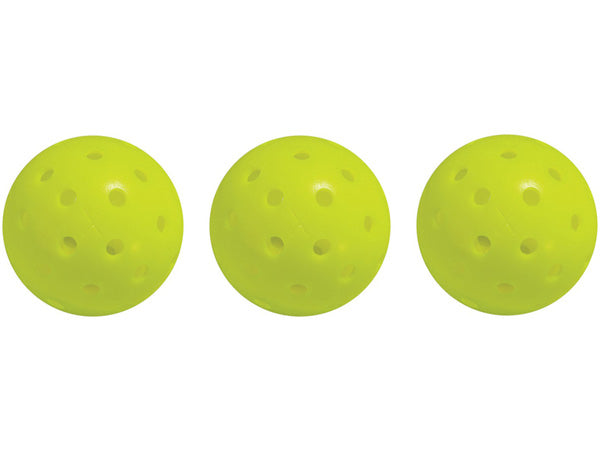 Franklin X-40 Performance Outdoor Pickleball Yellow 3pk