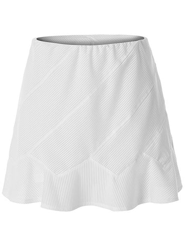 Tail Vibrant Glam Kailey Assymetrical Panel Skirt White TA6927-0016