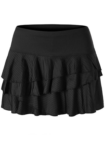 Lucky In Love Monarch Shadow Stripe Rally Skort CB266