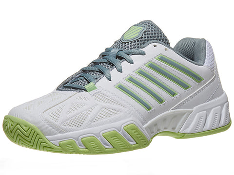 K-Swiss Bigshot Light 3 White/Green/Abyss Women's 95366-171