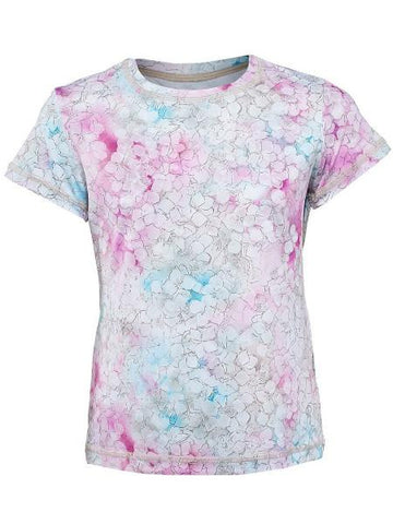 Girl's Apparel - Sofibella Prevail Girl's Short Sleeve Prevail Print 4664-pvl