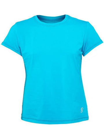 Girl's Apparel - Sofibella Prevail Girl's Short Sleeve Ultra Marine 4664-utm