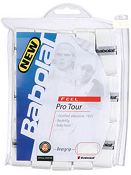 Grips - Babolat Pro Tour Overgrip White 30 Pack