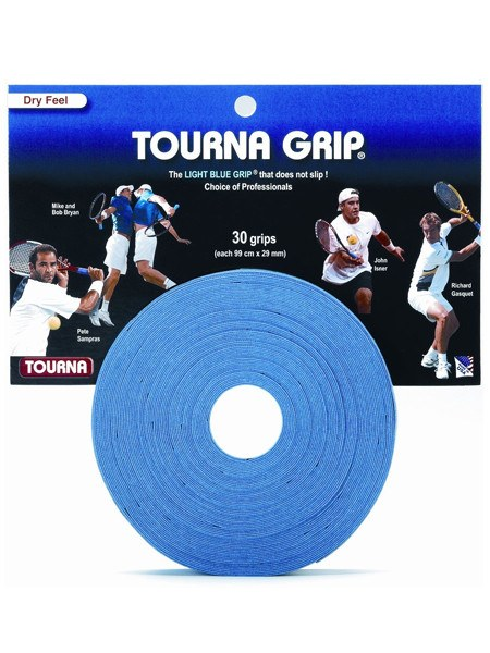 Grips - Tourna Grip Blue Overgrip 30 Pack