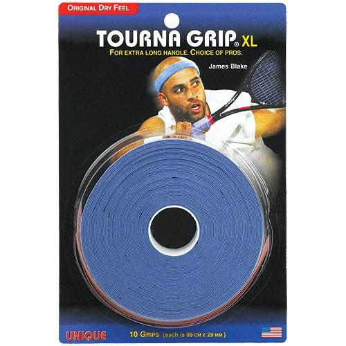 Grips - Tourna Grip XL Overgrip Blue 10 Pack