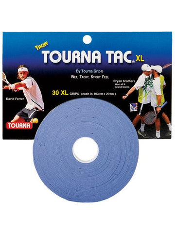 Grips - Tourna Tac XL Blue Overgrip 30 Pack