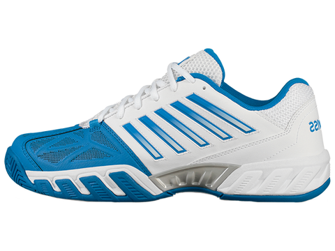 K-Swiss Bigshot Light 3 Men's White/Brilliant Blue/Black 05366-130