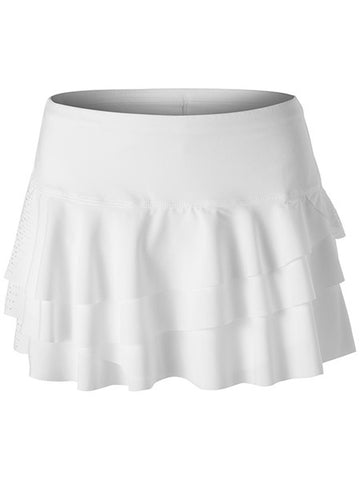 Lucky In Love Laser Rally Skirt White CB225-325110