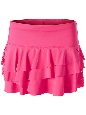 Lucky in Love Laser Rally Skirt Pink CB225-325645