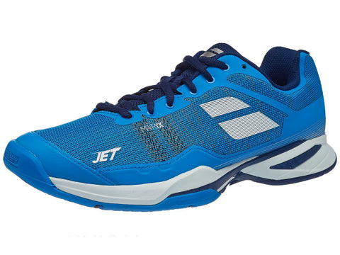 Babolat Jet Mach I Men's Shoes Diva Blue/White/Estate Blue