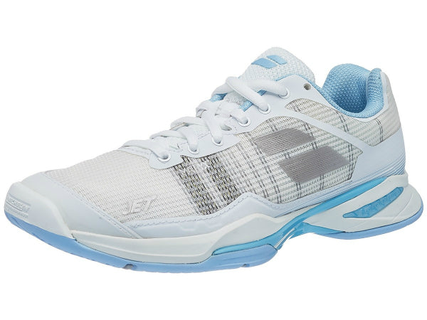 Babolat Jet Mach I AC Women's Shoes White/Sky Blue