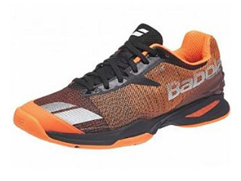 Men's Shoes - Babolat Jet AC Grey/Orange Men's Shoes