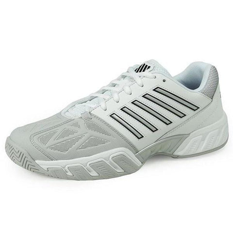 Men's Shoes - K-Swiss Bigshot Light 3 White/Silver Men's Shoes 05366-153