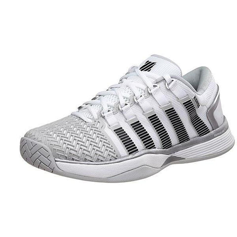 Men's Shoes - K-Swiss Hypercourt 2.0 Grey/White/Silver Men's Shoes 05394-171