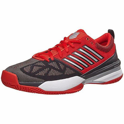 Men's Shoes - K-Swiss Knitshot Red/Black Men's Shoes 05397-610