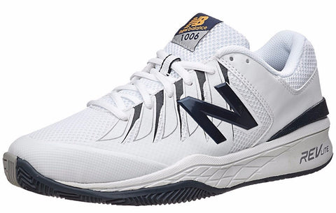 Men's Shoes - New Balance 1006 2E Shoes White/Black Men's Shoes