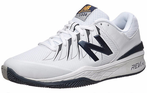 Men's Shoes - New Balance 1006 4E Shoes White/Black Men's Shoes