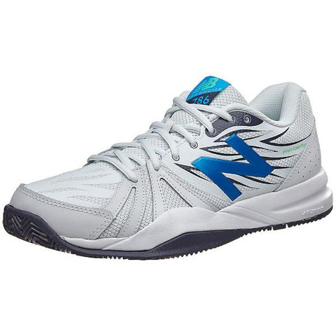 Men's Shoes - New Balance MC 786 Men's Shoes White/Electric Blue