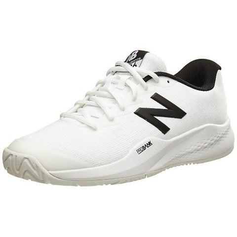 Men's Shoes - New Balance MC 996 White/Black Men's Shoes