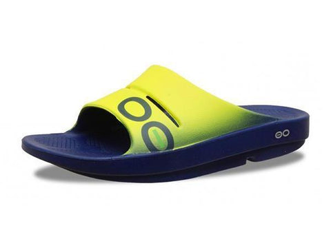 Men's Shoes - Oofos OOahh Sport Slide Sandal 1500EYLW