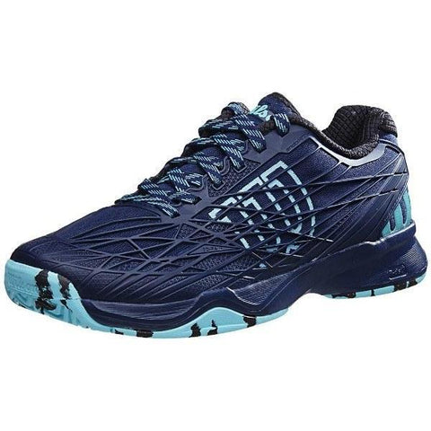 Men's Shoes - Wilson Kaos Navy/Cool Mint Men's Shoes