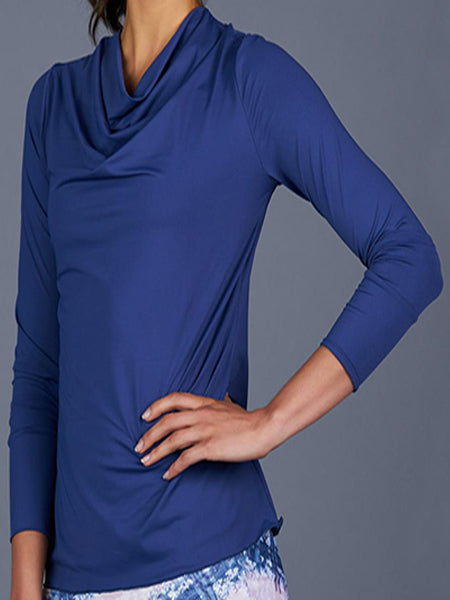 Denise Cronwall NY Square Long Sleeve Top