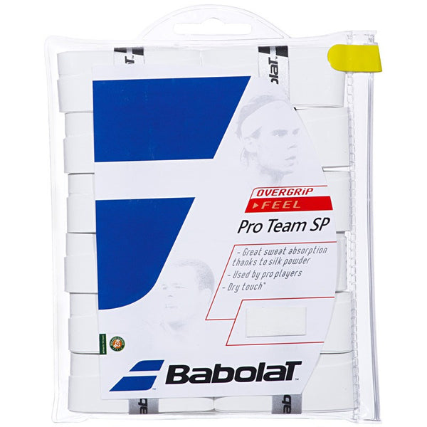 Overgrip - Babolat Pro Team SP Overgrip White 12 Pack