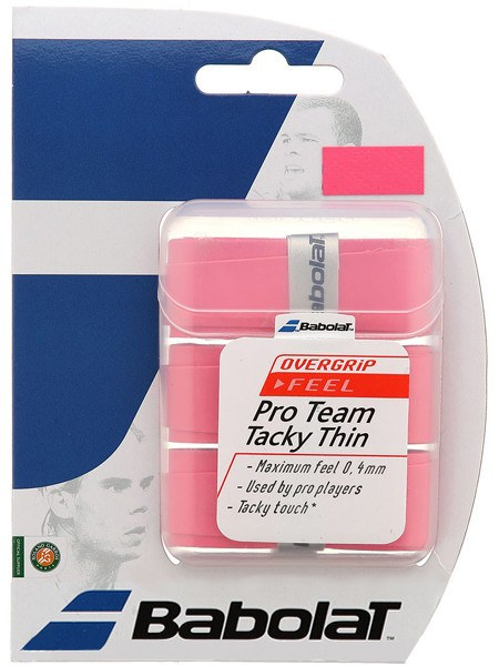 Overgrip - Babolat Pro Team Tacky Thin Overgrip 3 Pack