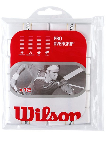 Overgrip - Wilson Pro Overgrip White 12 Pack