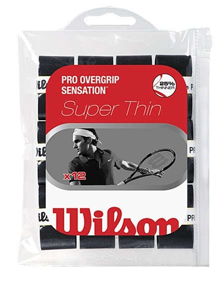 Overgrip - Wilson Pro Sensation Overgrip 12 Pack Black