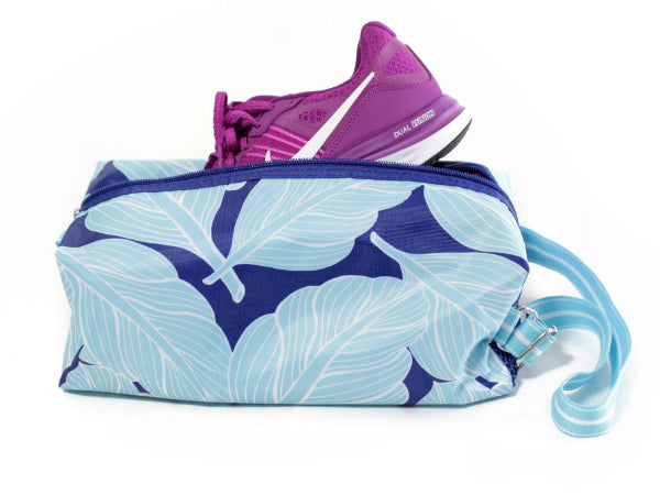 All For Color Palm Paradise Athletic Shoe Duffel TCAZ7293