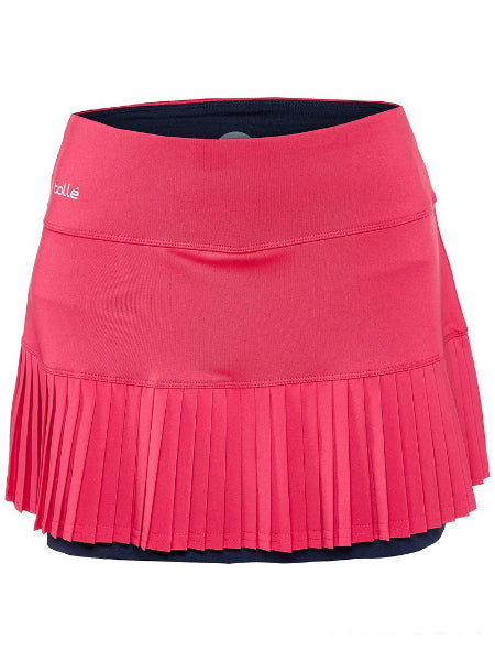 Bolle Women's Tulip Fields Pleated Skirt 8636-24-7616
