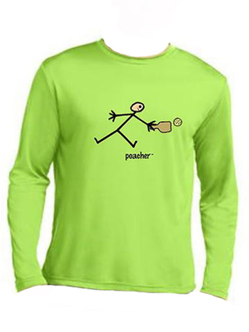 All Because Women's 'Poacher' Long Sleeve Lime