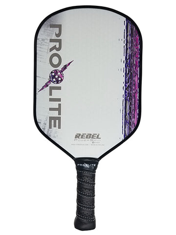 Pro-Lite Rebel Power Spin -New Cosmetic - Pickleball Paddle