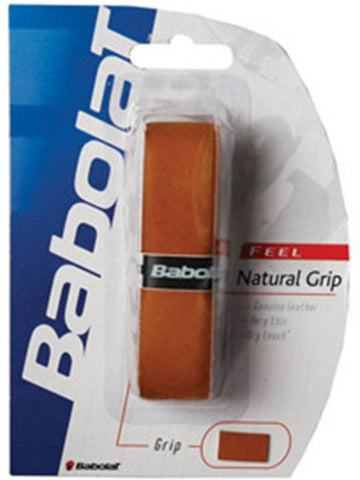 Replacement Grip - Babolat Natural Leather Replacement Grip