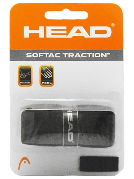 Replacement Grip - Head Softac Traction Grip Black