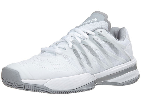 K-Swiss Ultrashot Womens Tennis Shoe White/Highrise 95648-107